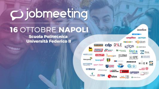 Job Meeting Napoli, una giornata di assunzioni per migliaia di giovani image