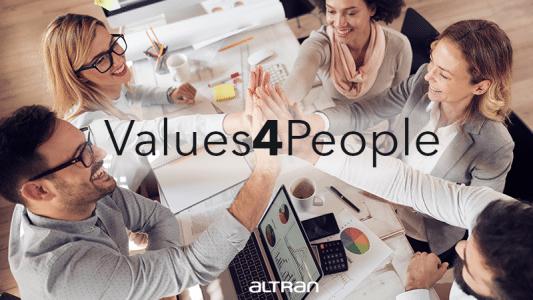 Values4People: la employee value proposition di Altran Italia image